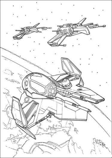 Star Wars Ship 6 Star Wars Drawings Star Wars Coloring Book