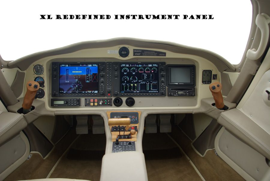 Velocity Aircraft, new redesigned instrument panel, really