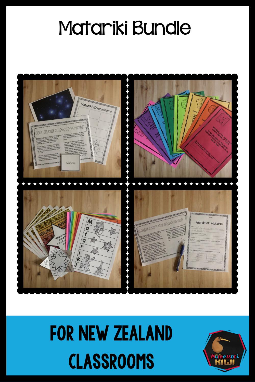 Matariki Bundle In 2020 School Journals Matching Cards Card Challenges