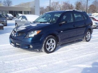 Blue 2004 Pontiac Vibe For Sale In Flushing Michigan Vin