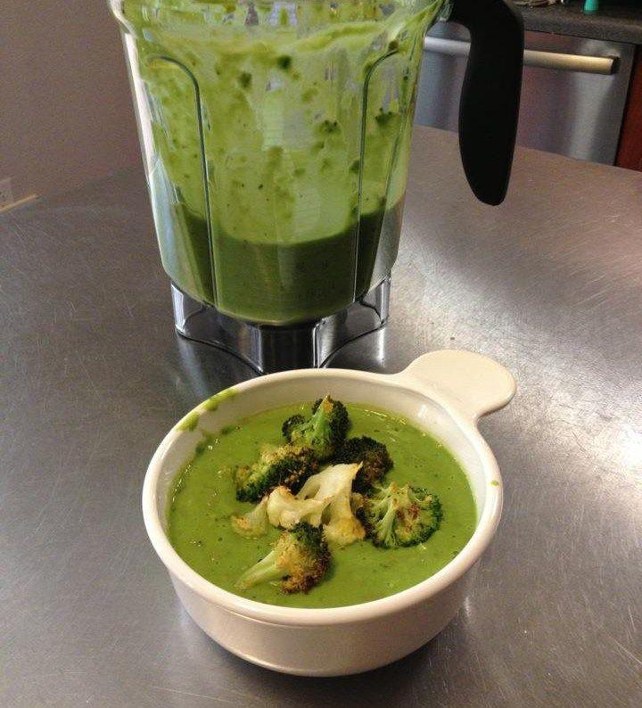 Cream of Broccoli Soup - Vitamix Style | Recipe | Paleo ...
