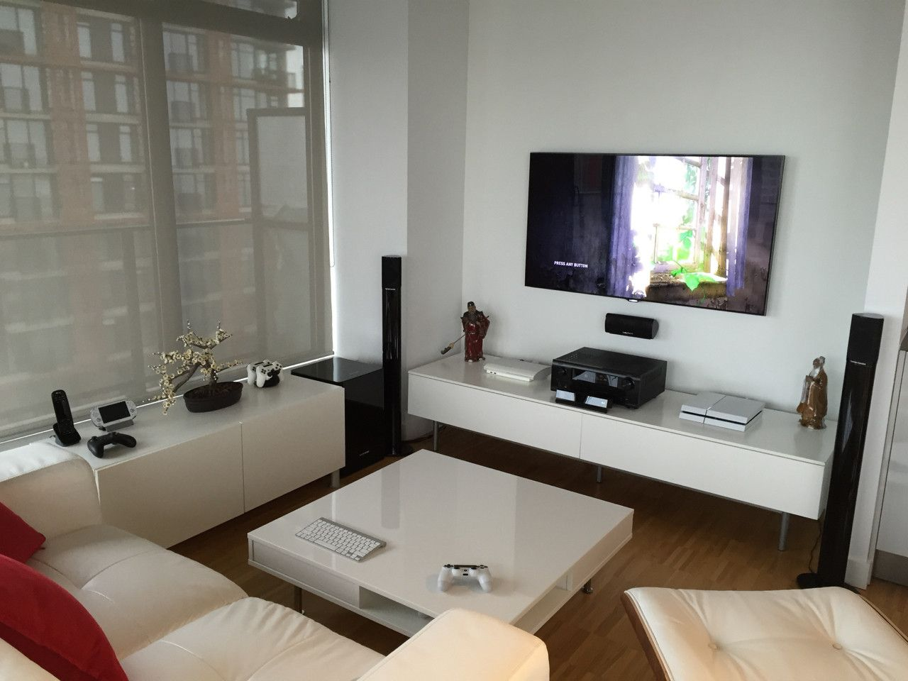 Of course, efficiency and comfort are important as well, and don. Minimalist in White Gamer Room | Small room design, Gamer ...
