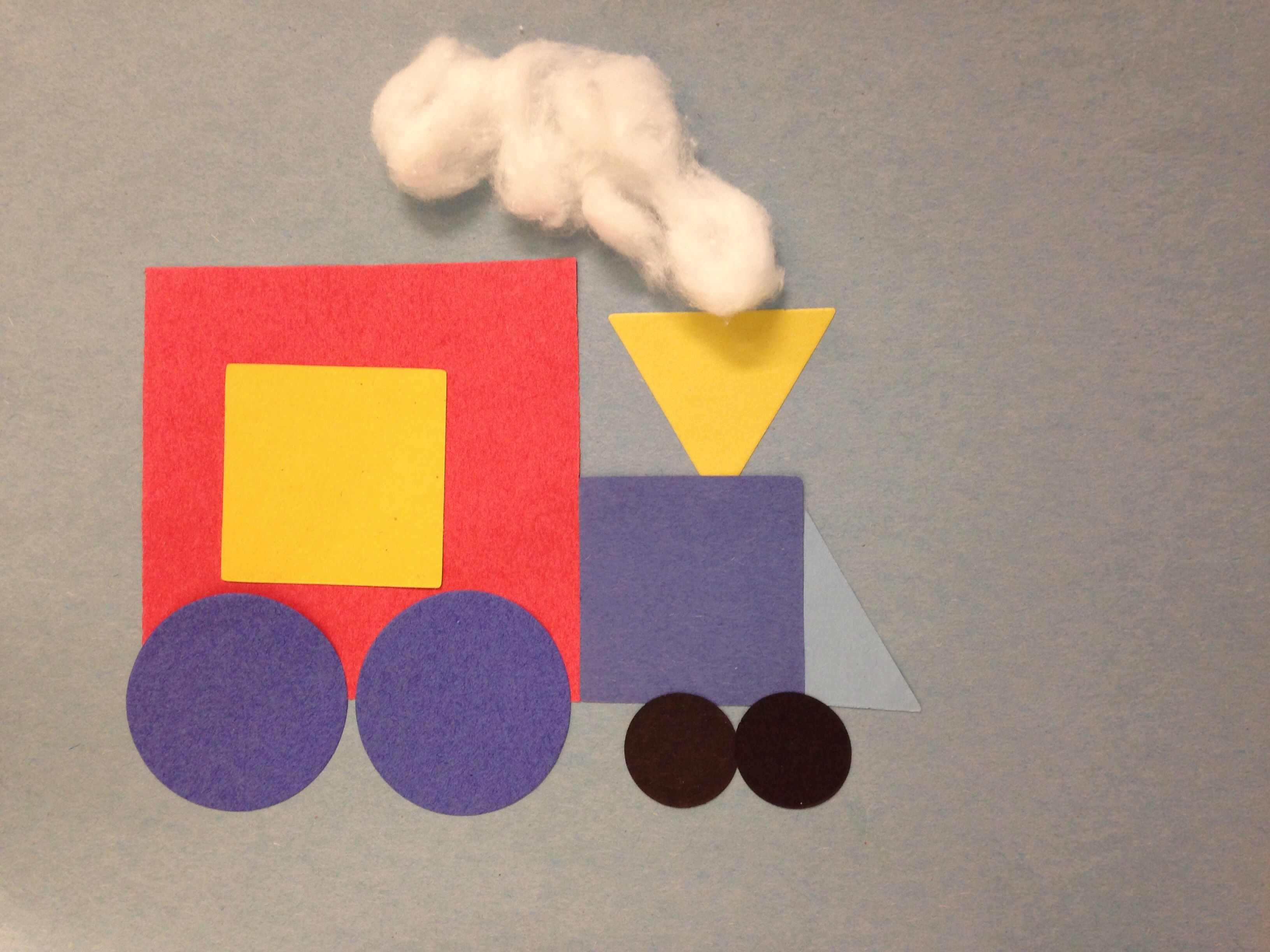 Train Storytime Craft
