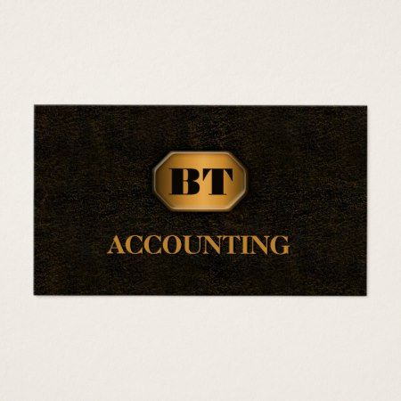 Rusted wrought cast iron metal with gold plate monogram accountant the best x standard accountant business card templates available online full color double sided printing save up to with bulk orders 12 paper types fbccfo Image collections