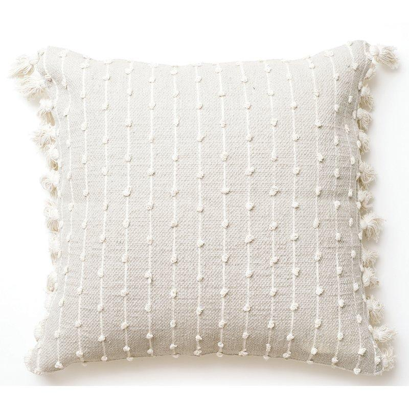 Chunky Woven Square Throw Pillow