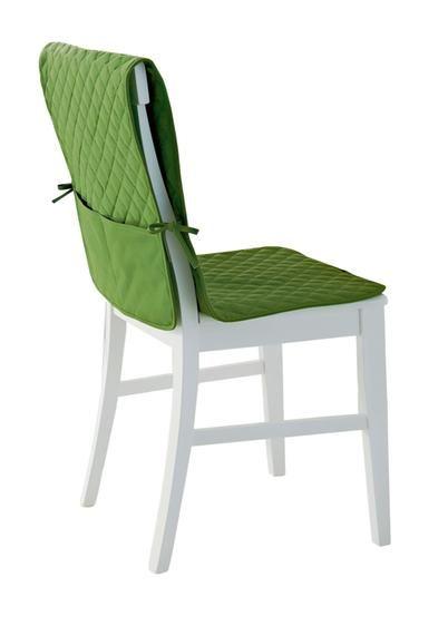 Coperture Per Tavoli Da Giardino.Coprisedia Trapuntato Verde Euronova Sedia Design Copri Sedia