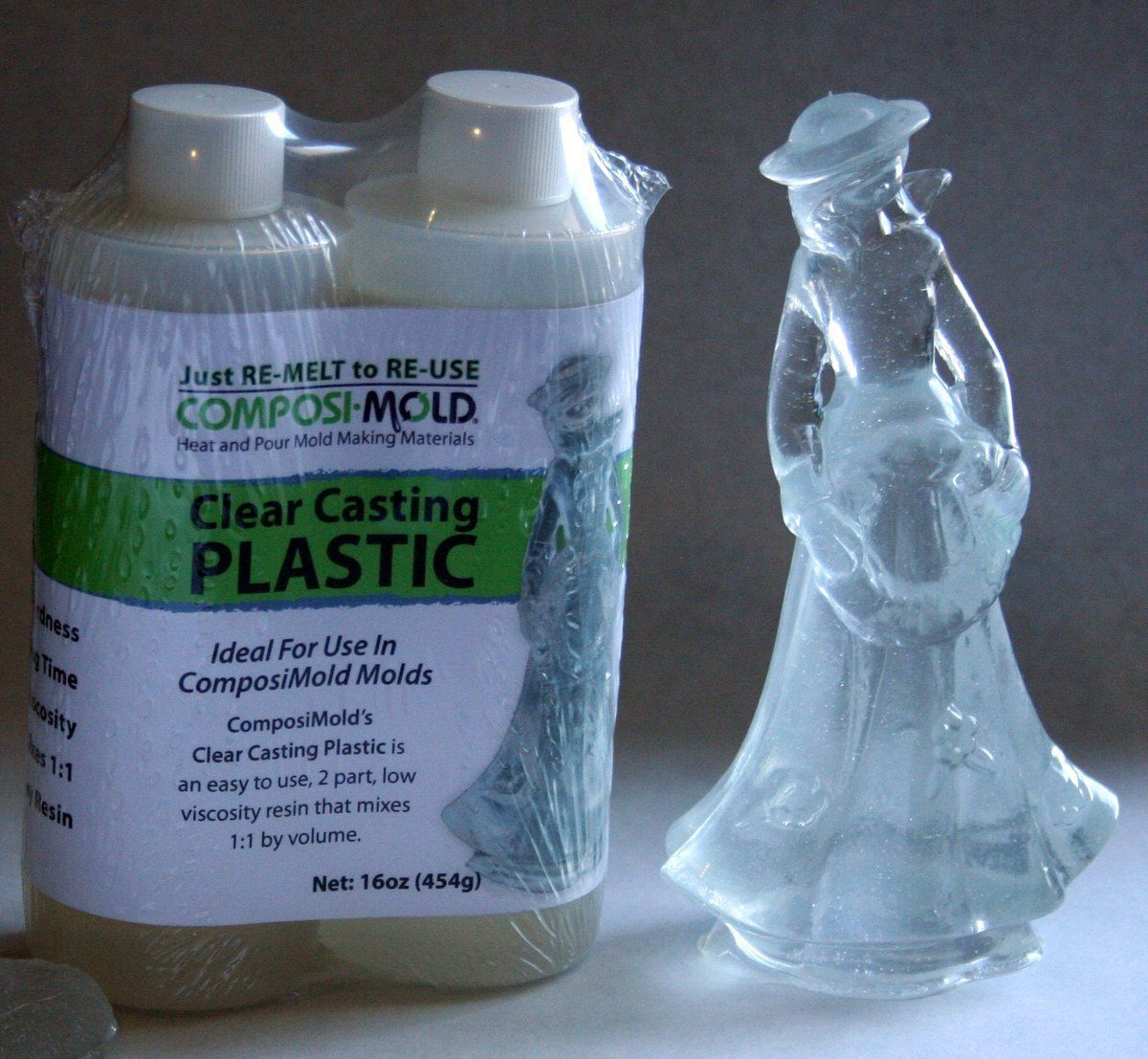 Composicast Clear Casting Plastic Epoxy Resin 8 Or 16 Fluid Oz Options Mold Making Diy Resin Crafts Diy Silicone Molds