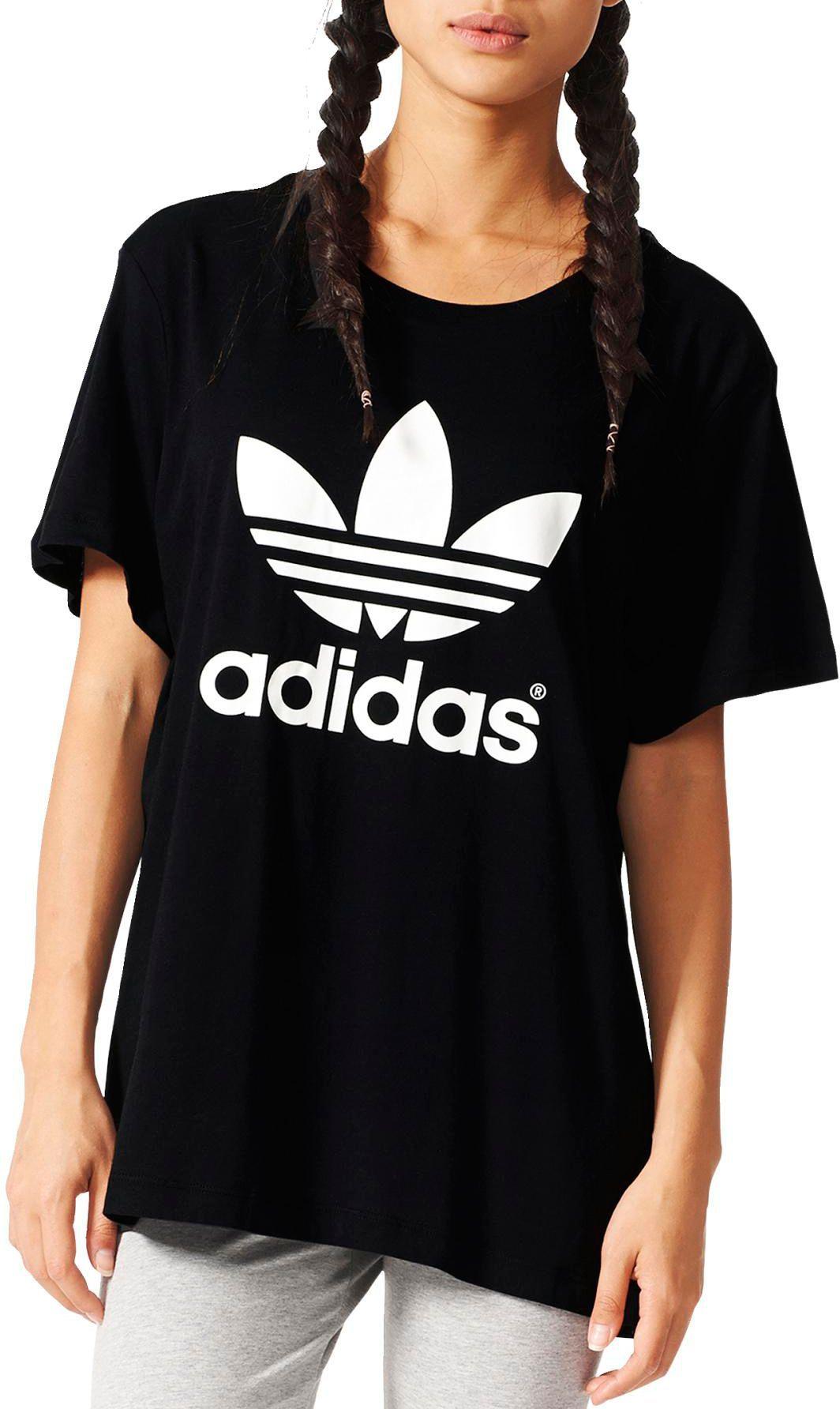 d010f3f2256f adidas Originals Women s Boyfriend Trefoil T-Shirt