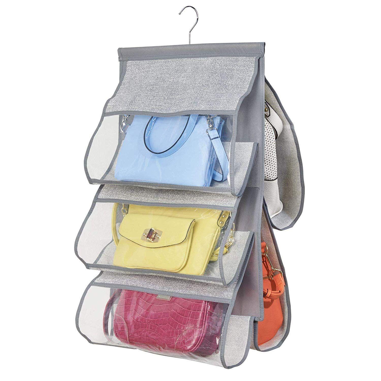 5 accessoires et astuces pour organiser son dressing | Rangement sac, Organisateur de sac à main