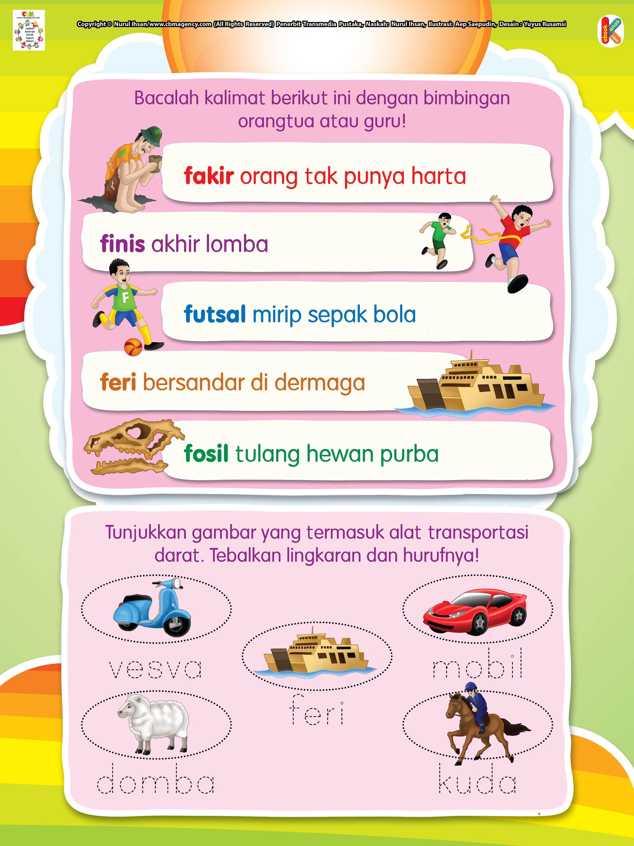 Hewan Dari Huruf F : hewan, huruf, Membaca, Menulis, Huruf, Berawalan, Membaca,, Huruf,, Belajar