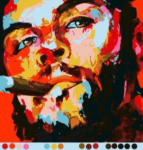 Портрет (16цв.) | Картины, Красочные картины, Живопись ...