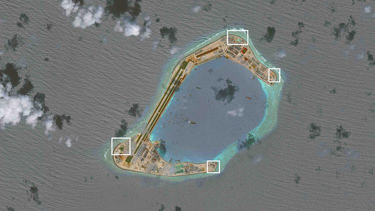 China instala sistemas de armamento en islas artificiales - http://www.notimundo.com.mx/mundo/china-instala-sistemas-armamento/