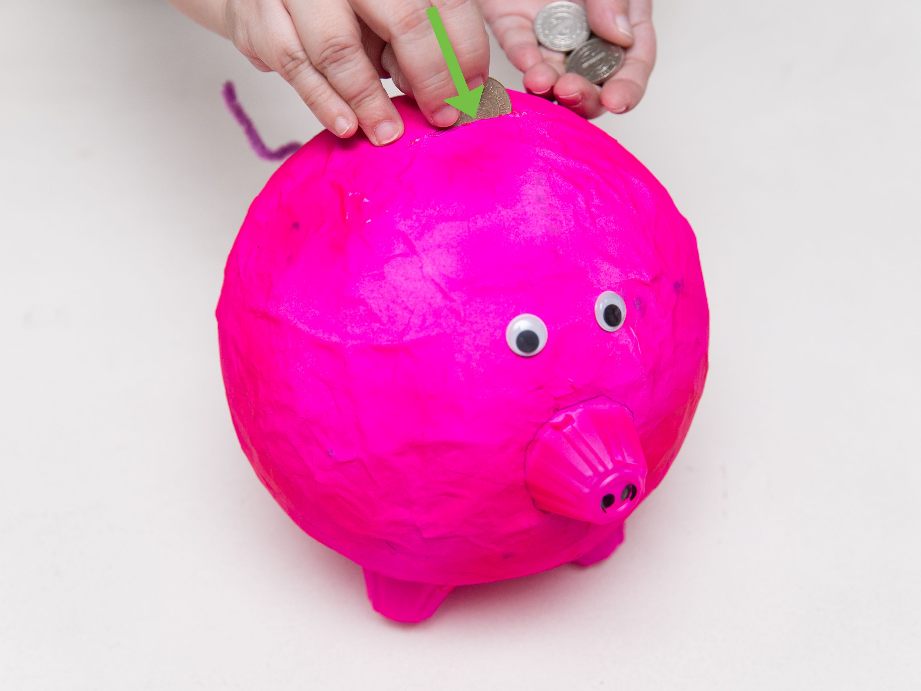 How to Make a Piggy Bank Make
