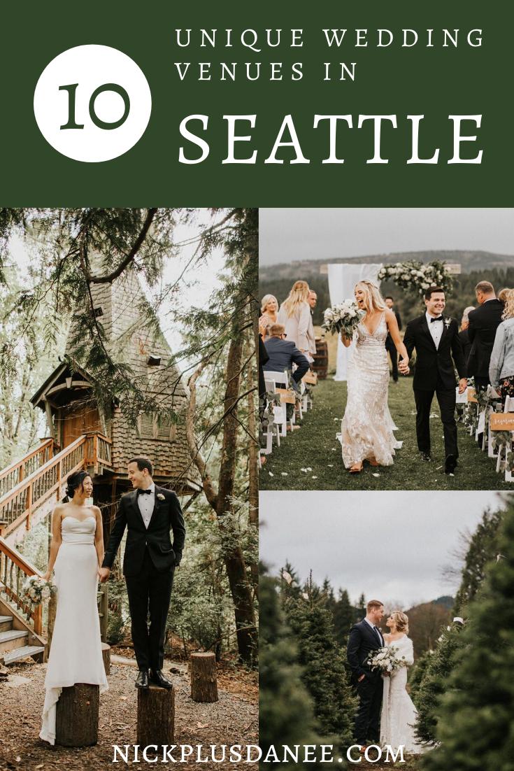 Best Seattle Wedding Venues - Nick Plus Danee