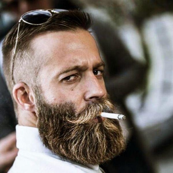 Photo of 40 Modest Grey Beard Styles für Herren – Machovibes – Modest Grey Beard Style …