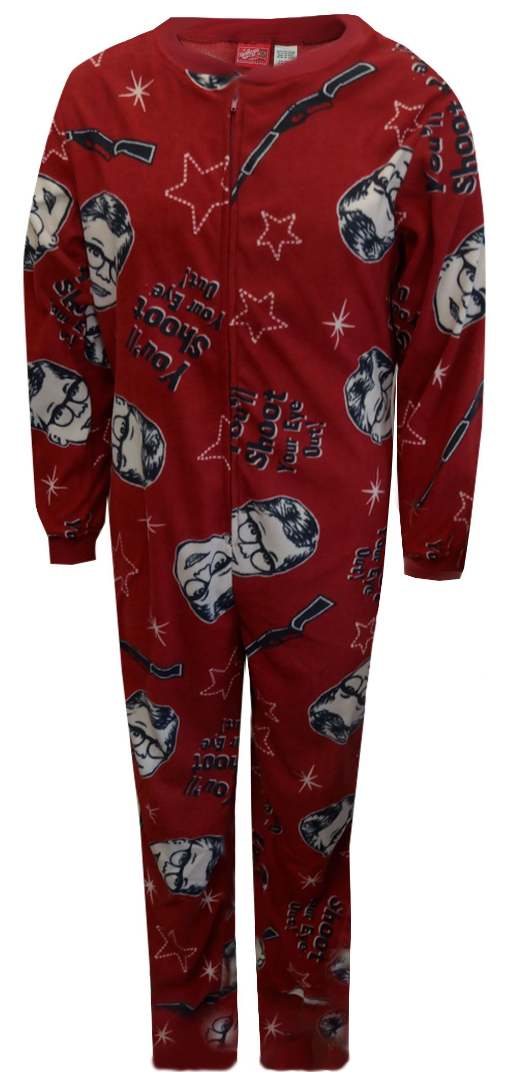 A Christmas Story Shoot Your Eye Out Union Suit Pajama | Union suit