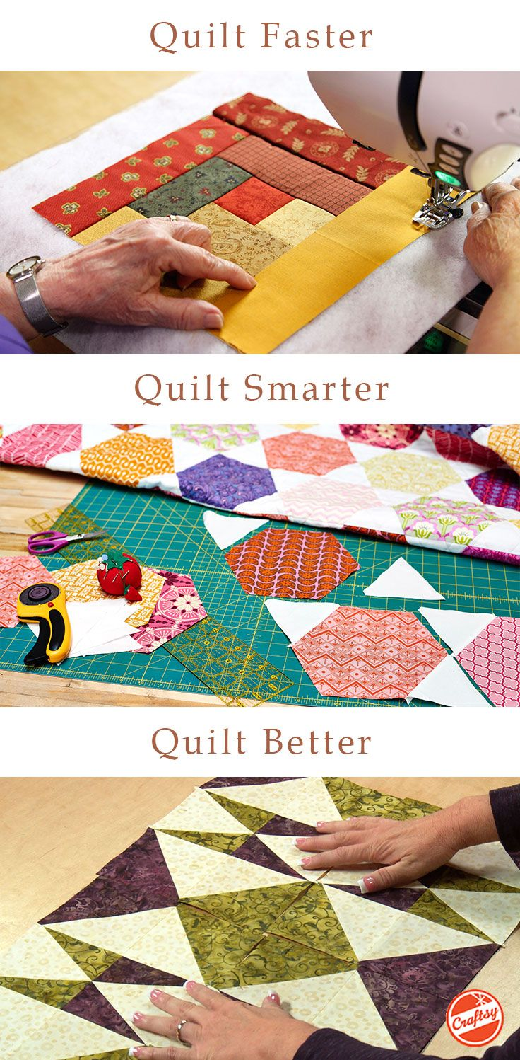 Who says beginner quilts can't be beautiful? Try one of these expert-led online quilting videos and make the quilt you've always wanted. Their yours to watch anytime, anywhere, forever. #compartirvideos #funnyvideos