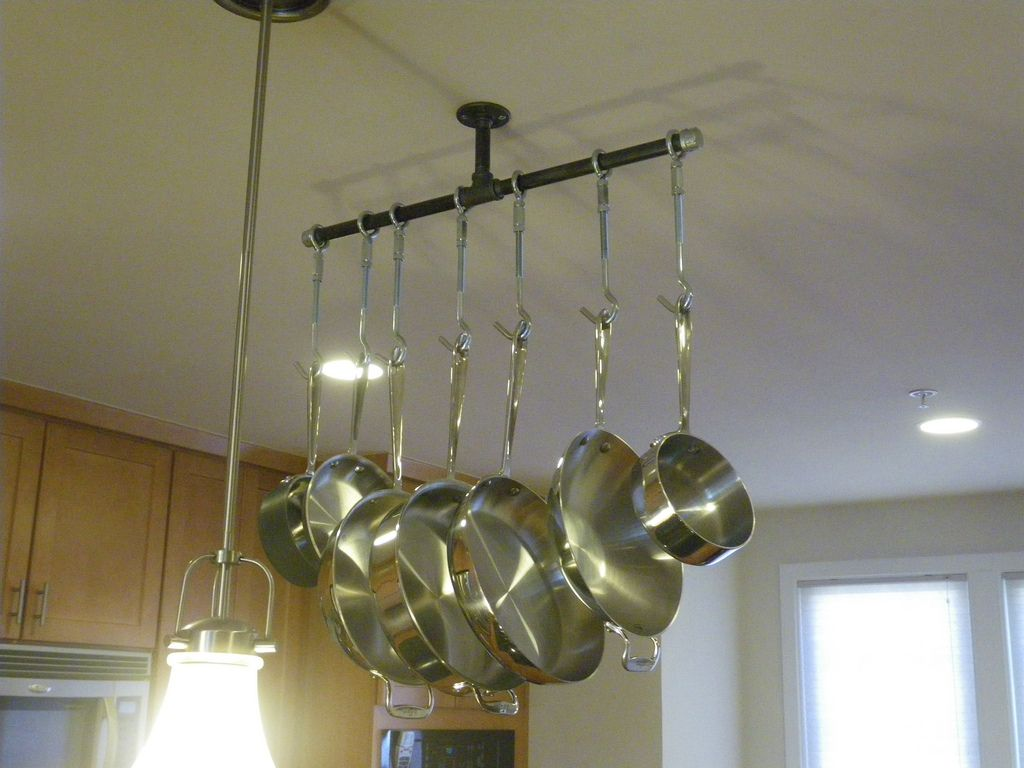 hanging pots and pans for 40 decorations pinterest pot