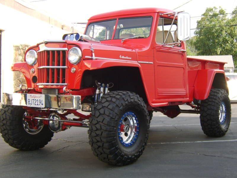 Willys Jeep, Trucks, Jeep Pickup