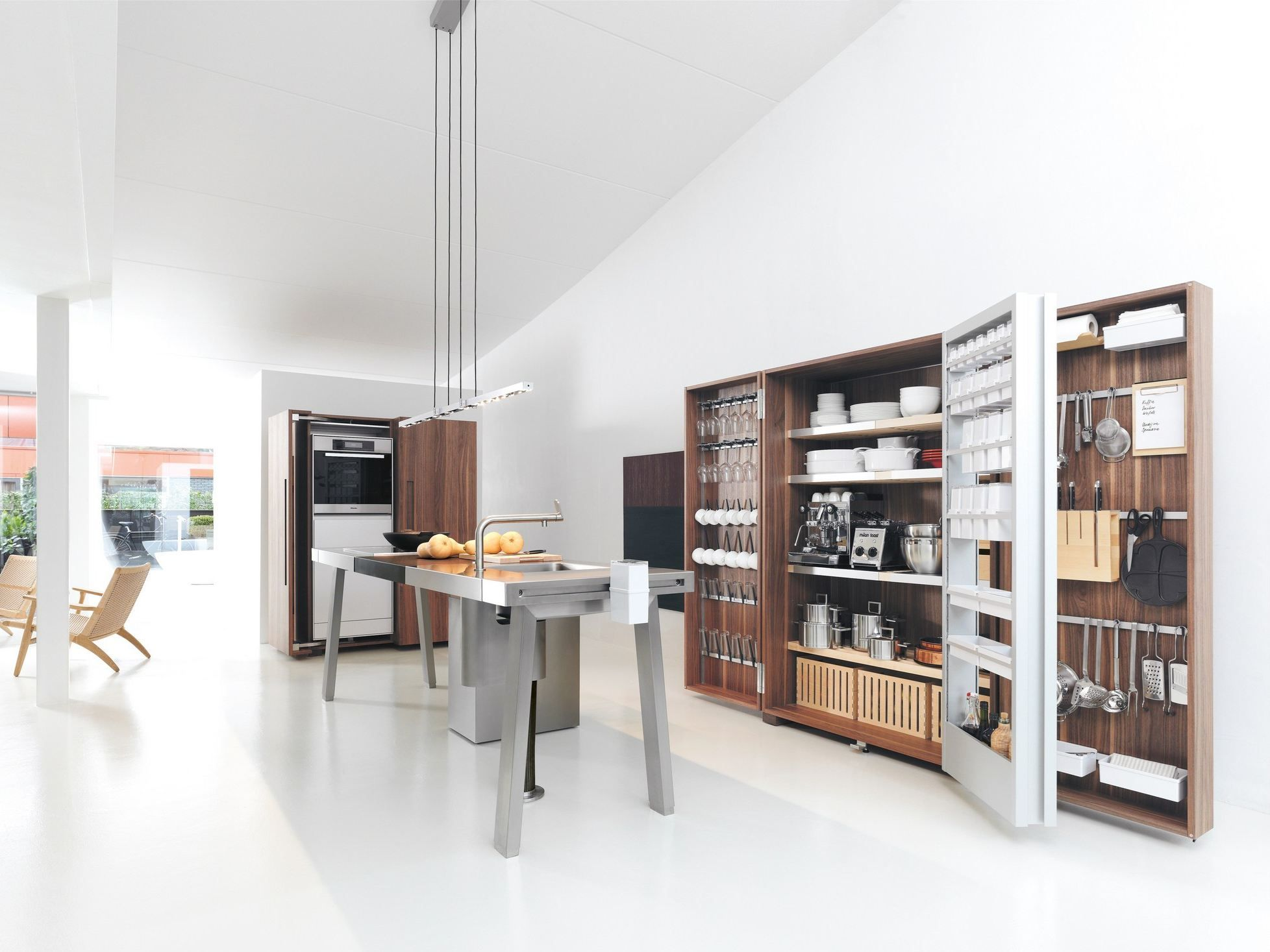 Fitted Kitchen B2 B2 Collection By Bulthaup Design Eoos  # Muebles Bulthaup