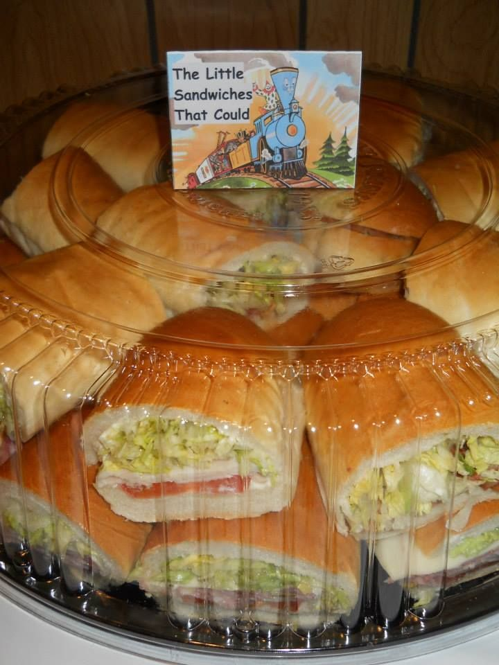 Storybook Theme Baby Shower   The Little Sandwiches That Could (all The  Food Had Storybook