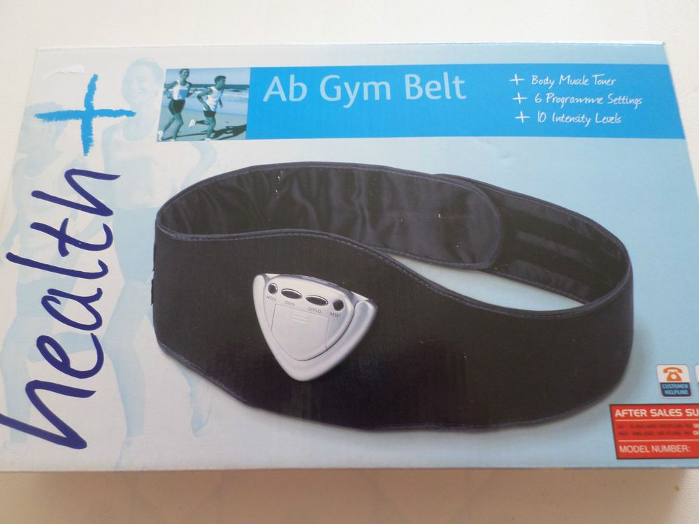 Health ab gym belt body muscle toner new and boxed