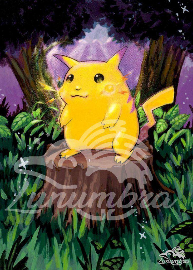 Pikachu 58/102 Base Set Extended Art Custom Pokemon Card