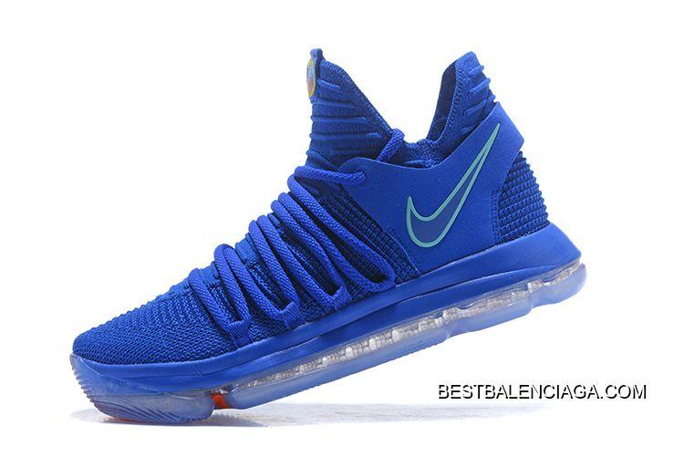 "0c09e0237638 Nike KD 10 ""City Edition"" Racer Blue Light Menta Black-Total Crimson Big  Discount"