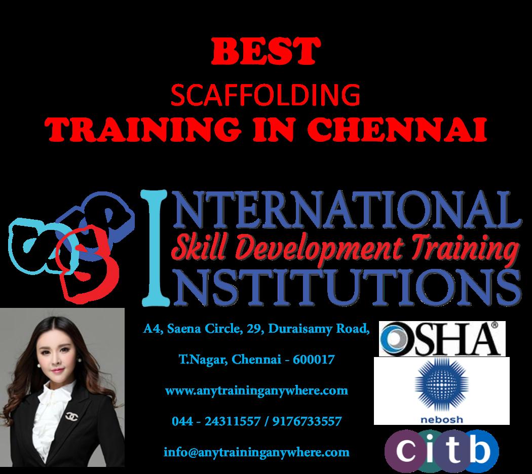 Best Scaffolding Training Institute in Chennai www