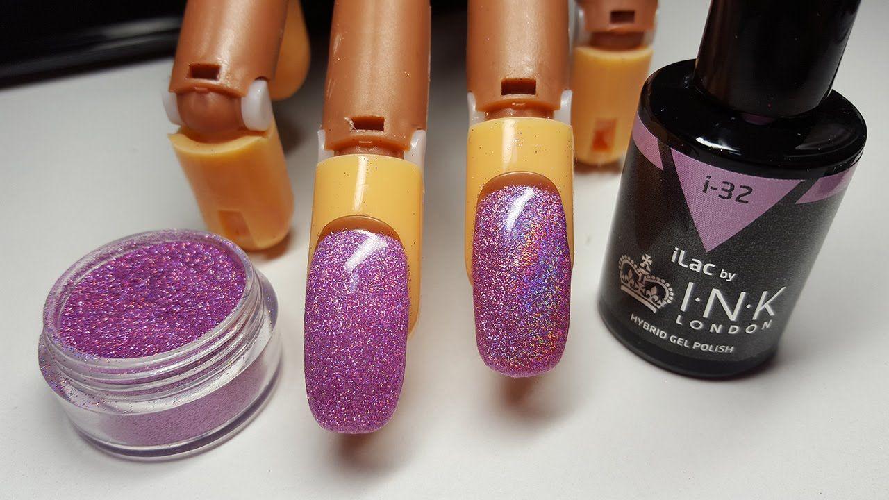 Applying Glitter To Gel Polish   Three Easy Techniques