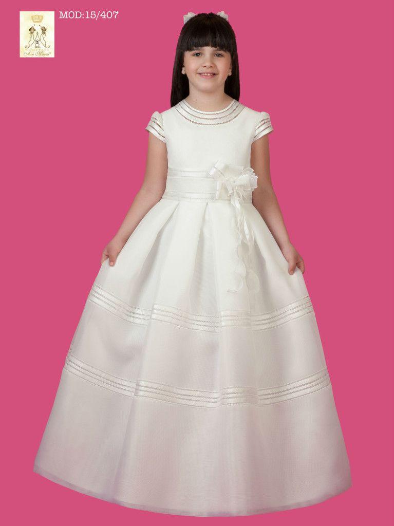 vestidos de comunión para niñas #entrebastidores #higarnovias