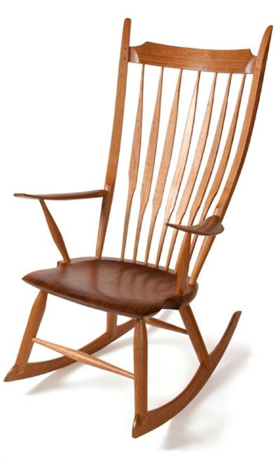 Windsor Style Rocking Chair Digital Plan Rocking Chair