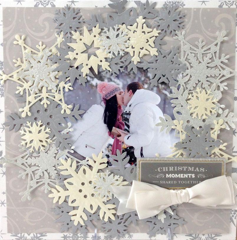 © Anna Griffin, Inc. Snowflake Die Cutting Dies