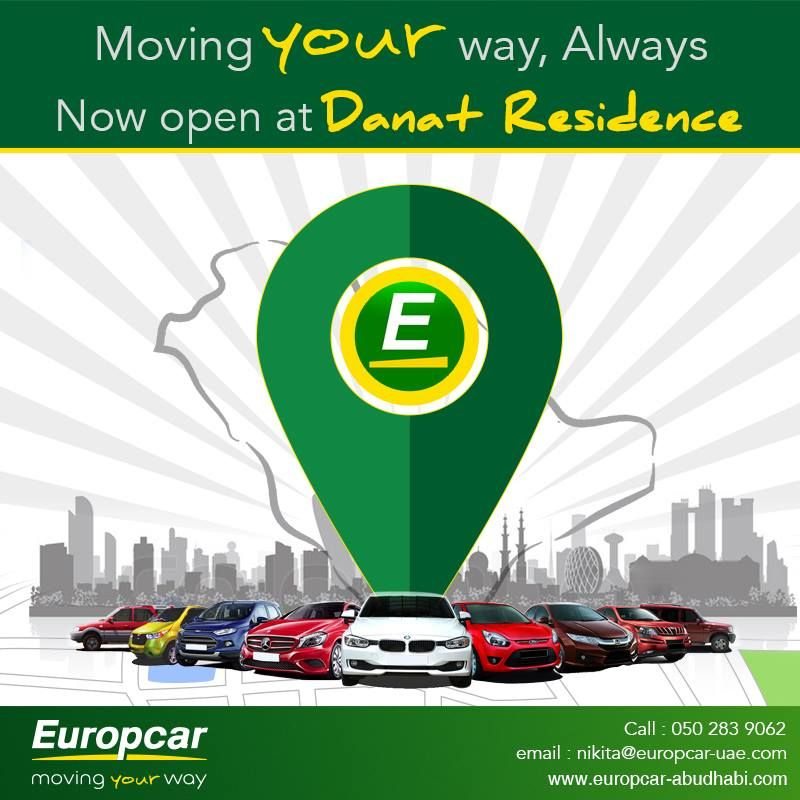 Now Open At Danat Residence For More Information On Your Car Rental