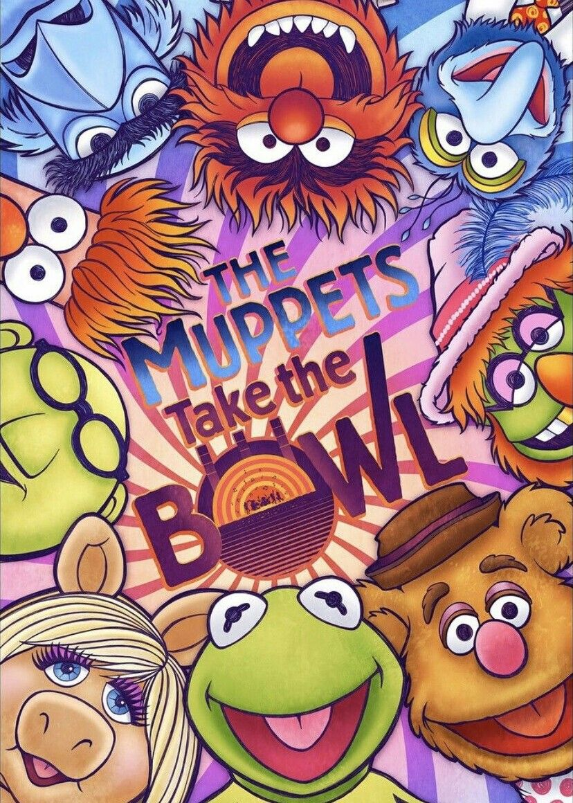 new /& sealed Premier The Muppets Movie Maxi Poster 61cm x 91.5cm