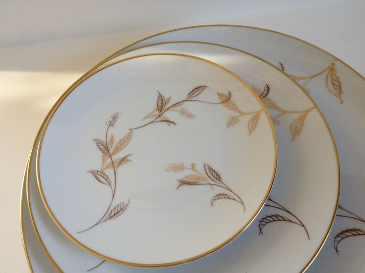Jania Dinnerware Set - Noritake China (1950s) & Jania Dinnerware Set - Noritake China (1950s) | PD17: China ...