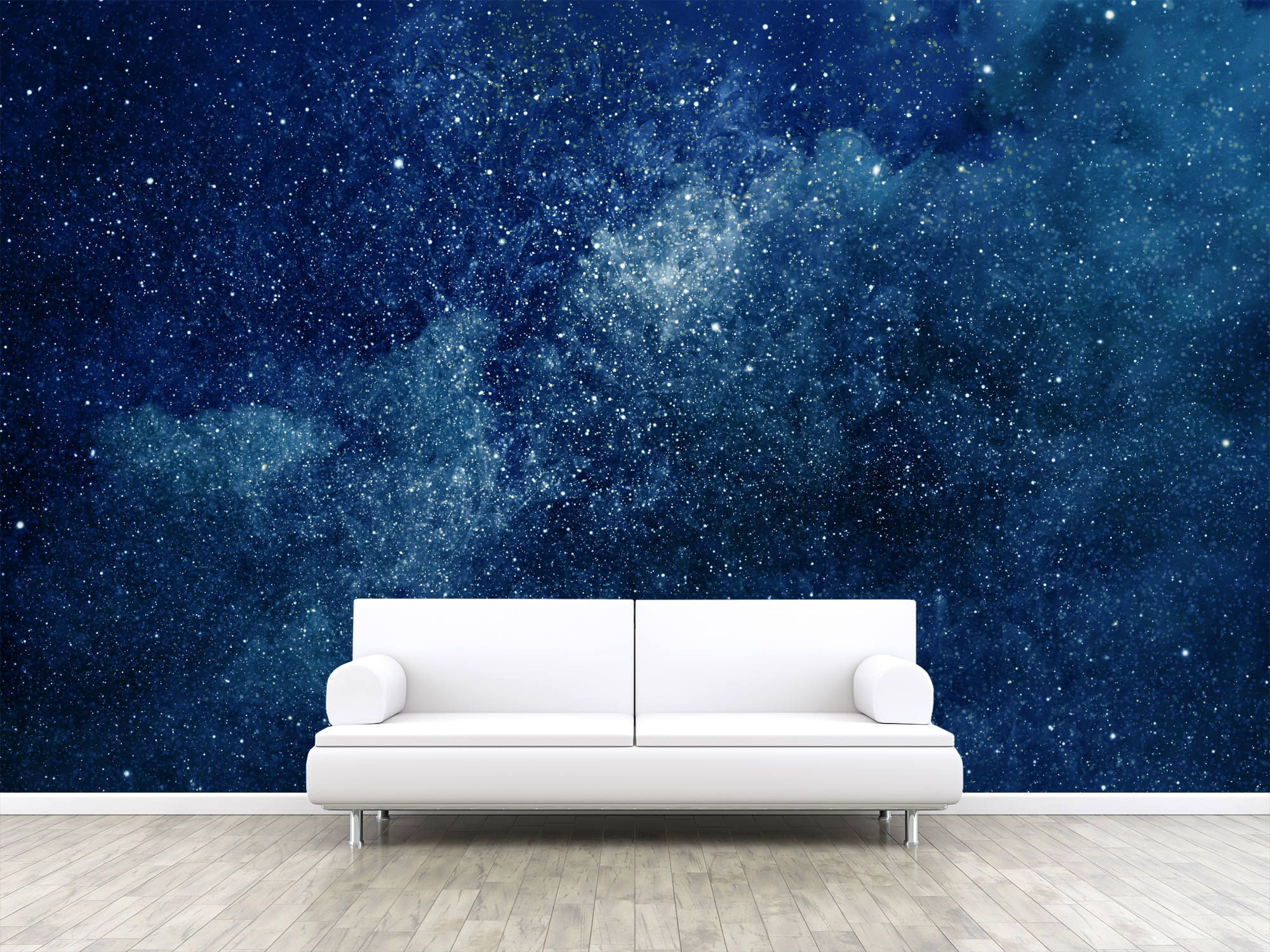 Universe Filled With Stars Photo Wallpaper Removable Wall Etsy Photo Wallpaper Wall Wallpaper Wall Murals