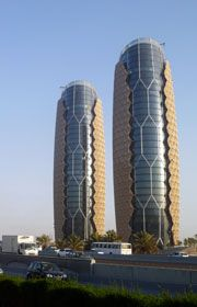 2012 Tall Building Innovation Award Al Bahar Towers in #AbuDhabi  .    	 	  Al Bahar Towers, Abu Dhabi, UAE