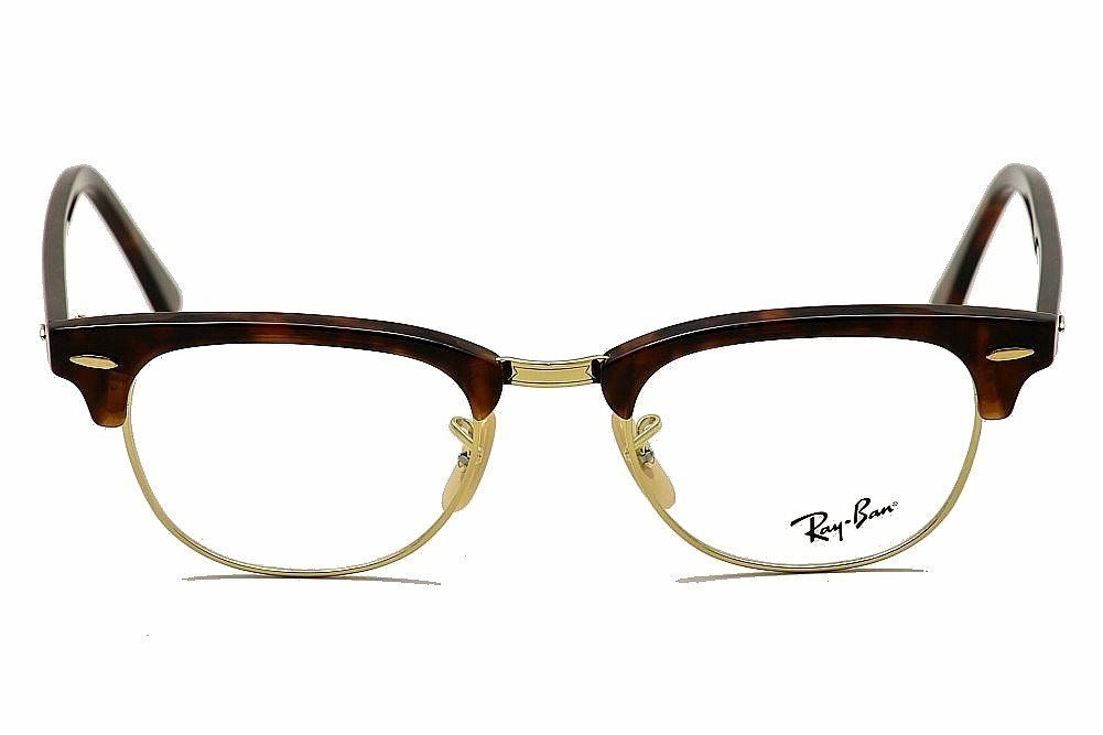 9b9244bda85 Amazon.com  Ray Ban RX5154 Clubmaster Eyeglasses-2372 Red Havana-49mm  Shoes