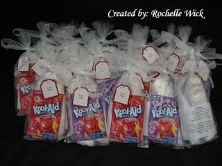 Play Doh Party Kits= we did this a few years ago and the kids loved it.