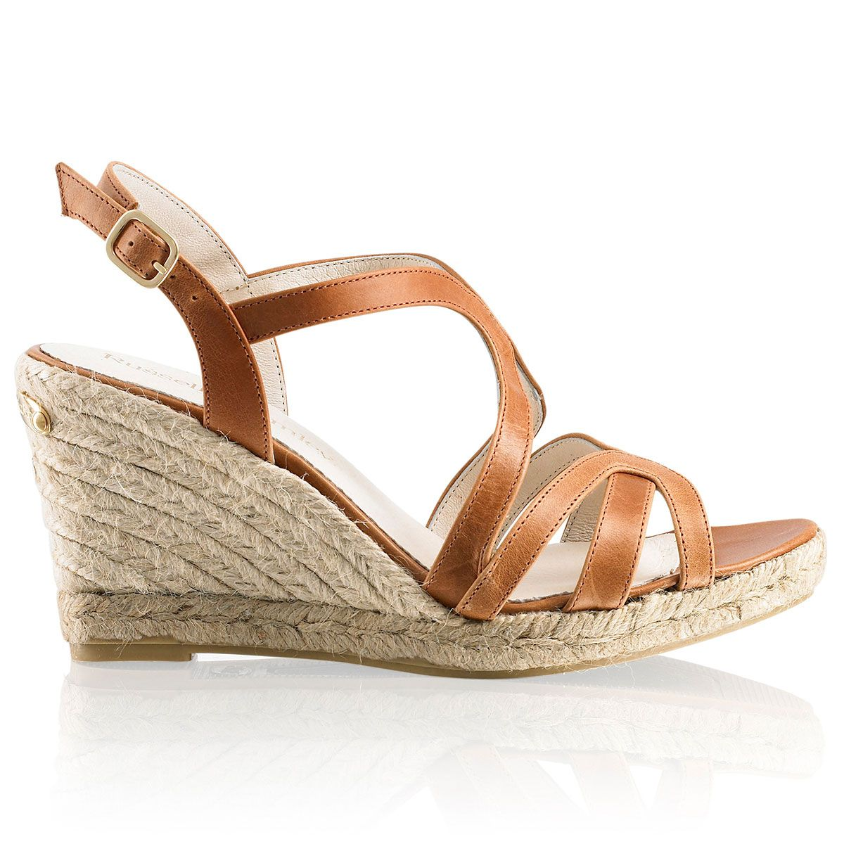 24ba23dcab1 Russell and Bromley - Eye-candy Strappy wedge sandal - £145 | SoLE ...