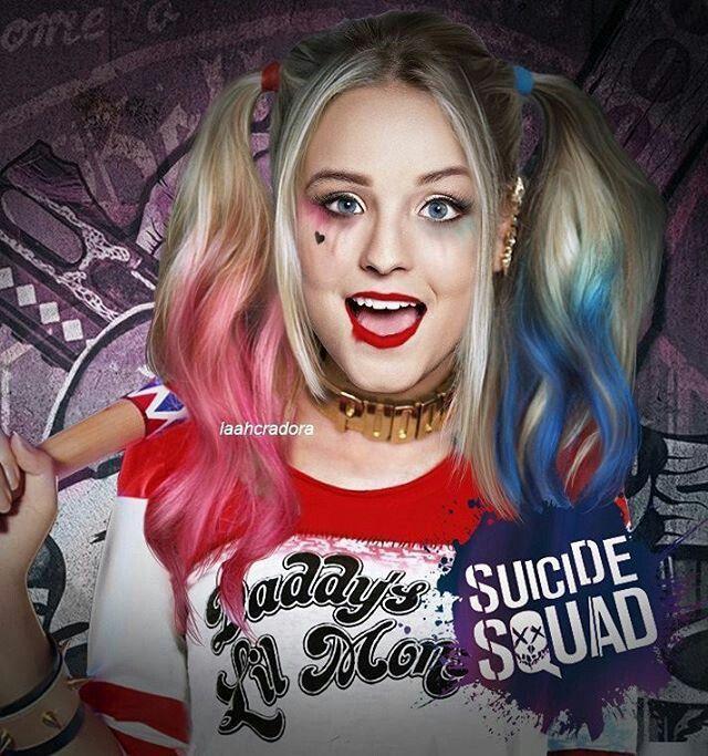 Olha ela de Arlequina Gente ❤😍   Harley quinn em 2019   Larissa ... 63ca624d84