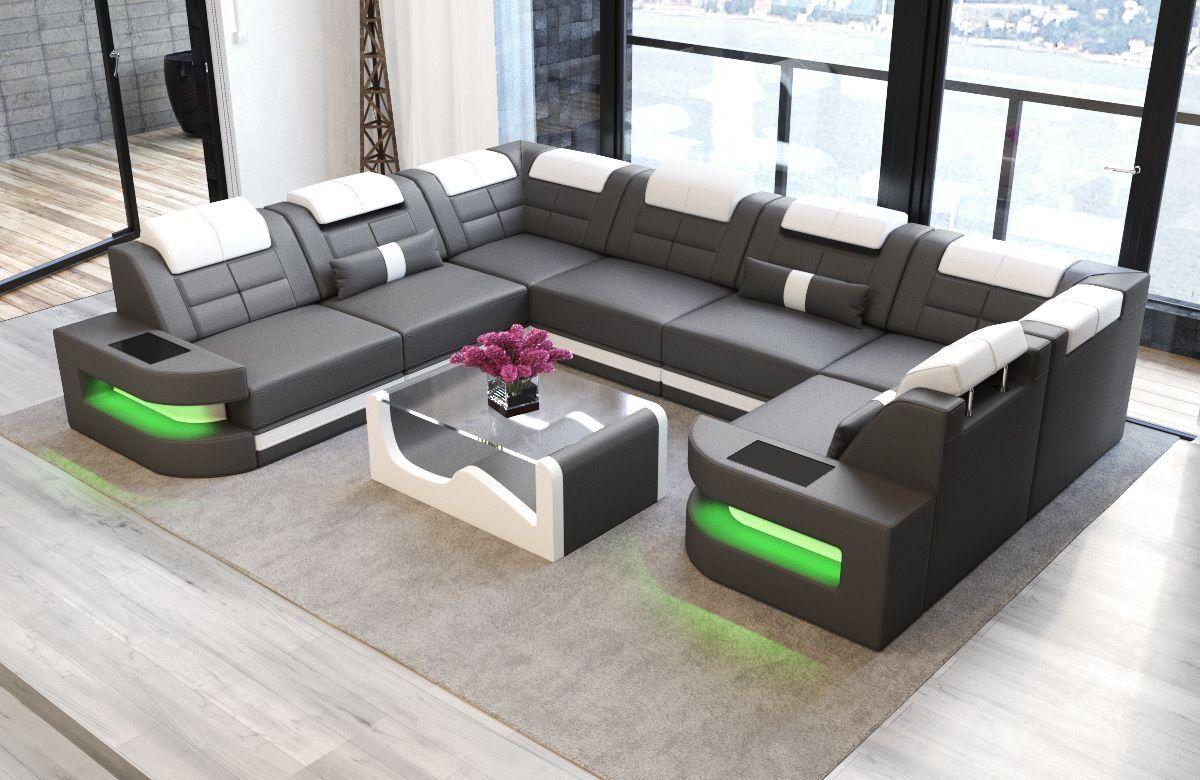Wohnlandschaft Como U Form Wohnen Sofa Design Wohn Mobel