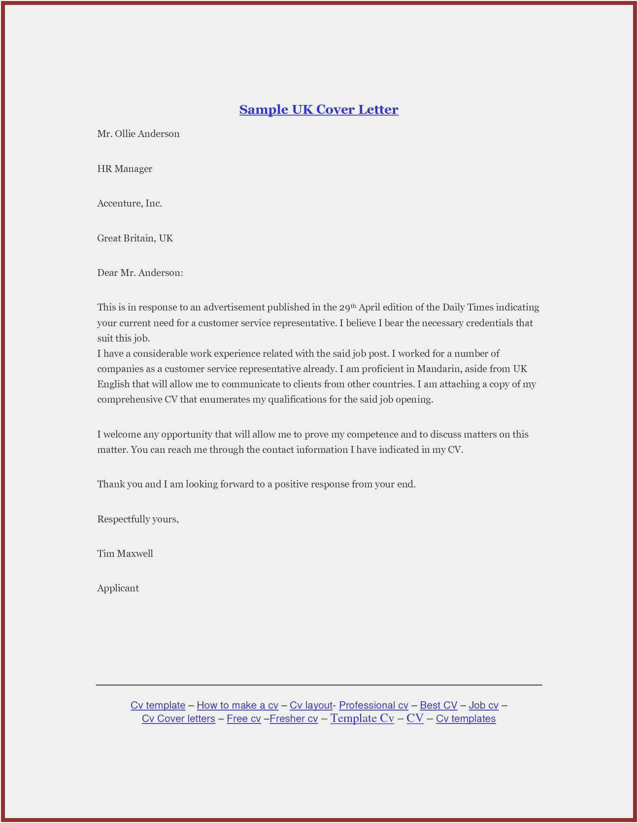 Professional Business Letter Template in 2020 Business