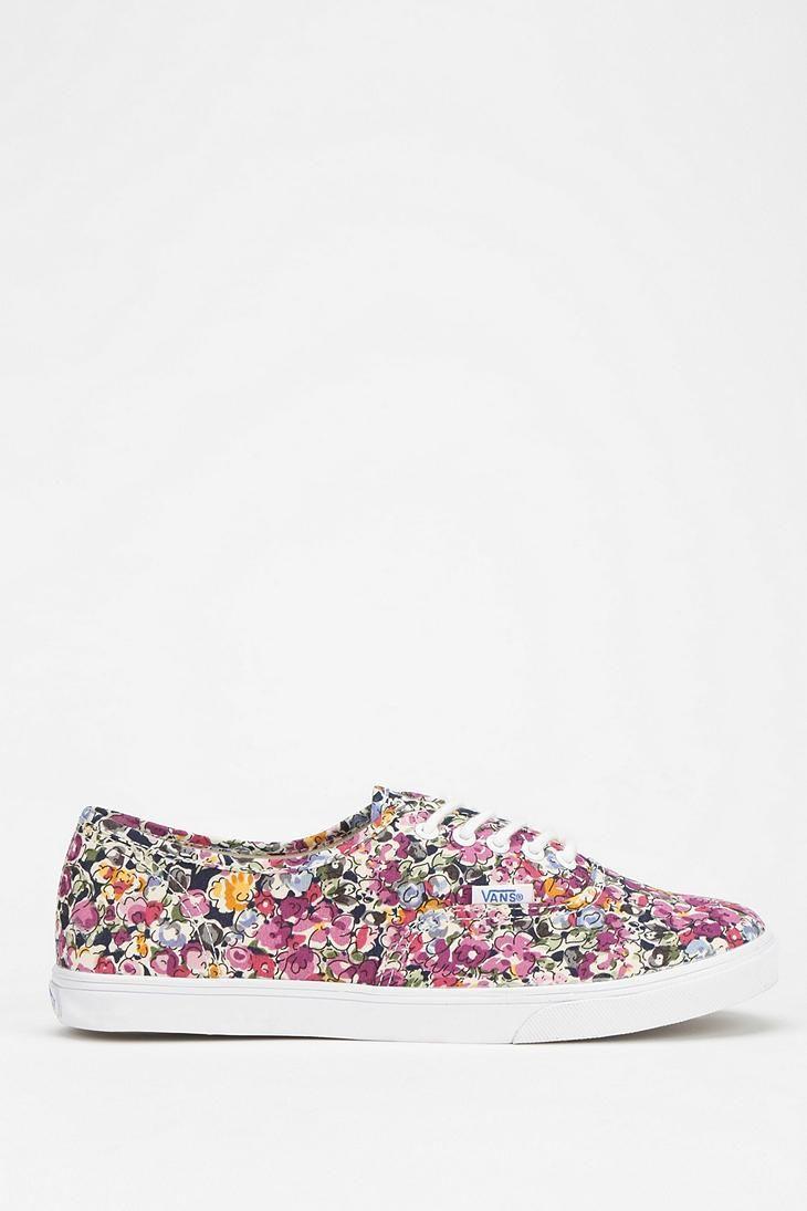 3d4863f2f5 Vans Authentic Lo Pro Floral Women s Low-Top Sneaker  urbanoutfitters