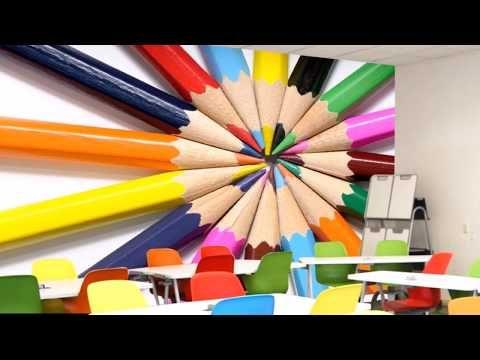 ورق حائط ثلاثي الابعاد للمدارس Youtube Wallpaper Crayon Art Supplies