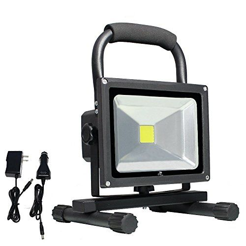 Outdoor Decor Lte 20w Cordless Portable Rechargeable Outdoor Led Work Light 100w Halogen Bulb Equivalent 1500 Lumen Led Flood Lights Flood Lights Portable Led