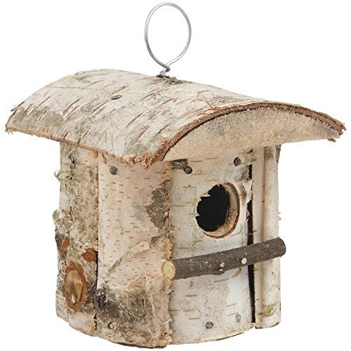 achat original grande vente au rabais site professionnel Nichoir à oiseaux en Bouleau: Amazon.fr: Cuisine & Maison ...