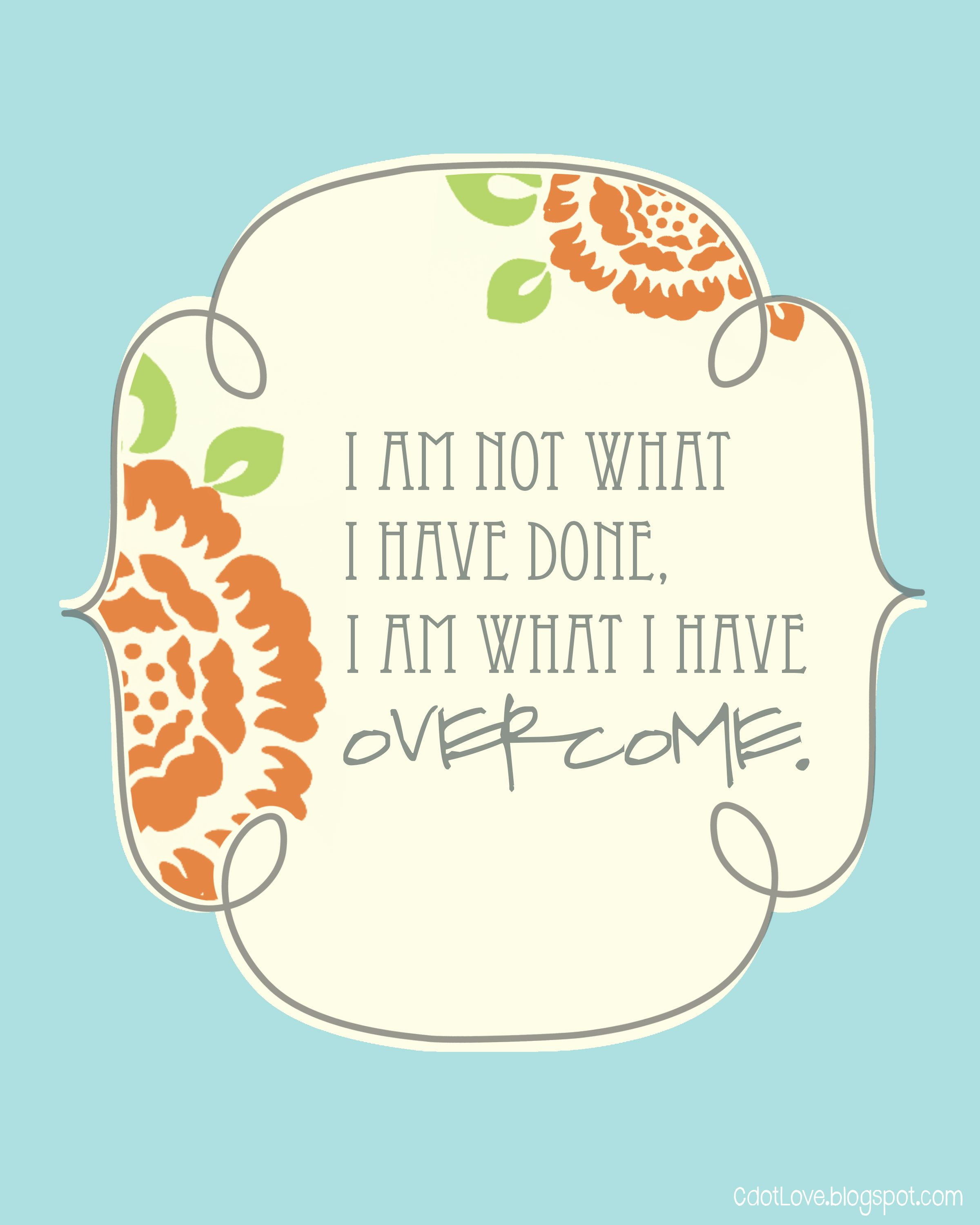 2 FREE Printables With Quotes About STRENGTH. So Cute! #printables #free #