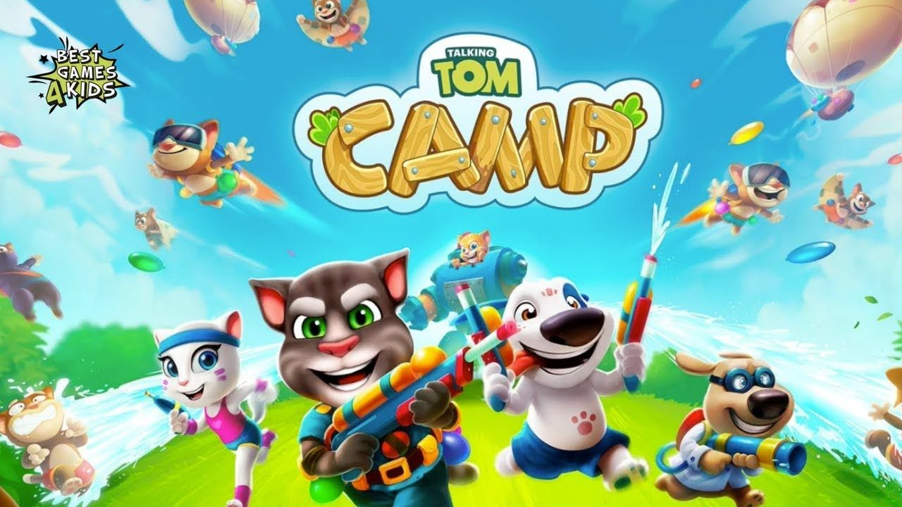 Talking Tom Camp is a popular Strategy game, which has